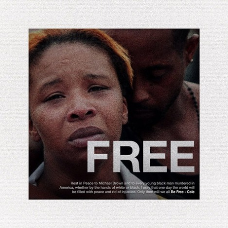 Listen to 'Be Free' by J. Cole – Rapper's Tribute to MichaelBrown